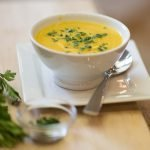 photo of butternut squash cider soup