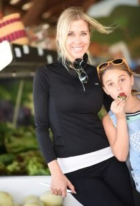 photo of Sheri and Grace Geoffreys at South Coast Farms