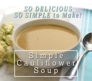 photo of Simple Cauliflower Soup
