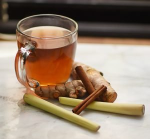 photo of homemade Turmeric Cinnamon Lemongrass Tea