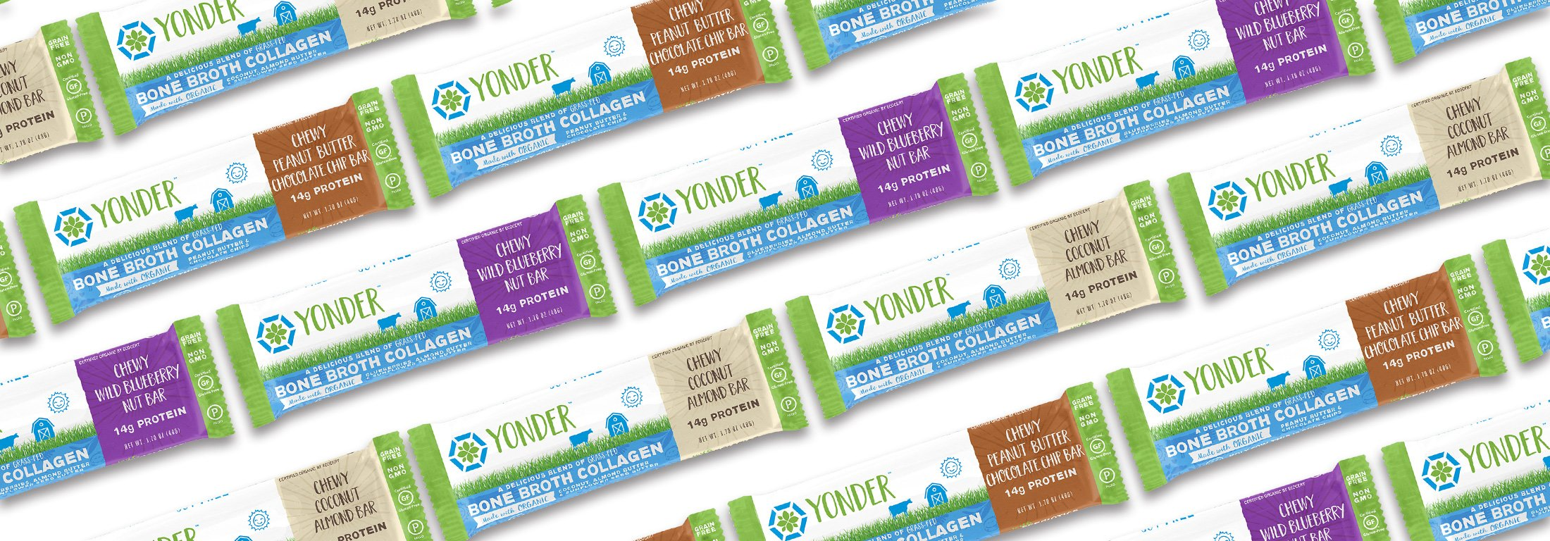 Yonder Bone Broth Collagen Bars