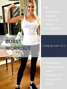 photo of Sheri Geoffreys and facts on 15 minute burst workouts